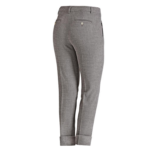 "Seductive Business Trousers ""Blended Wool"" Soft, won't chafe, comfortably elastic, hardwearing and machine washable."