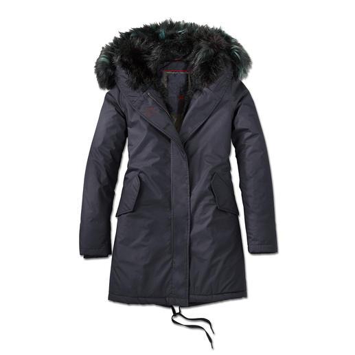 CANADIAN CLASSICS Fake Fur Parka Looks just like real fur.