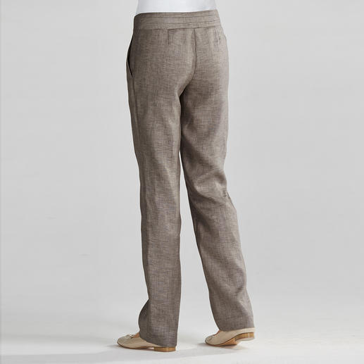 Linen Business Trousers Linen trousers for work – casual, airy and flattering.