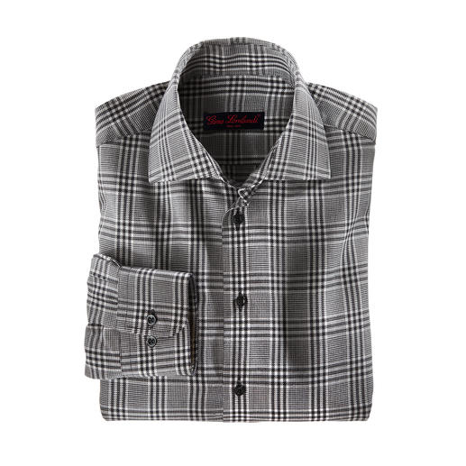 Cashmere Flannel Shirt - Pleasantly warm. Wonderfully soft. And pleasingly inexpensive.