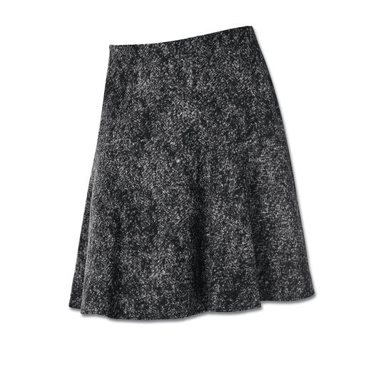Michèle Wool-Jersey Skirt A new, lightweight tweed look – in soft wool jersey. Perfect for the current flared skirt style.