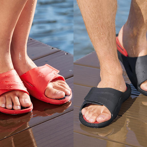 Fashy AquaFeel Ladies or Men's Pool Shoe - Non-slip on wet surfaces. Antibacterial to combat athlete's foot.
