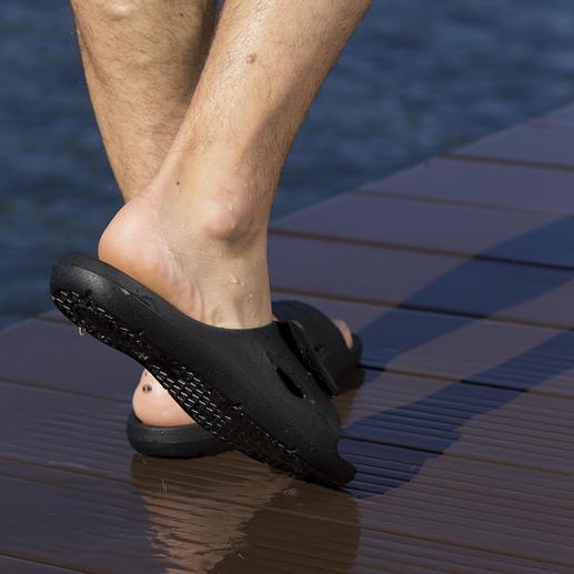 Fashy AquaFeel Ladies or Men's Pool Shoe Non-slip on wet surfaces. Antibacterial to combat athlete's foot.