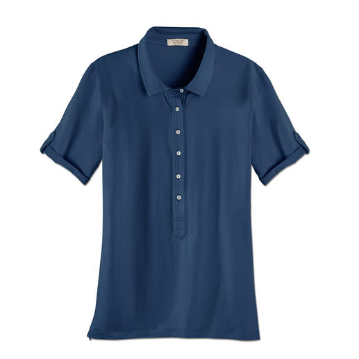 Aigle Functional Cotton Polo Shirt Soft and natural. Keeps you feeling dry and fresh. Reliable UV protection.
