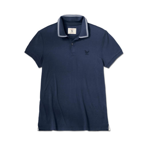 Aigle Cotton Polo Shirt with UV Protection At last, UV protection in pure cotton. Soft, natural touch. Stylish, versatile look.