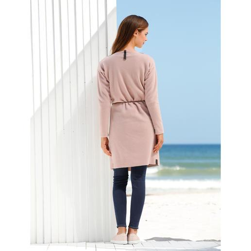 Henriette Steffensen Fleece Coat Elegant fleece fashion.  Simple, Scandinavian-style coat.