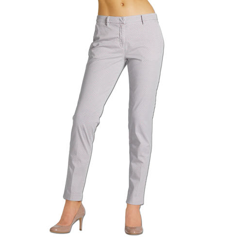 "Mason's Chino ""Minimalistic Design"" Perfectly tailored for the female figure: Feminine chinos in trendy minimalistic design. By Mason's."