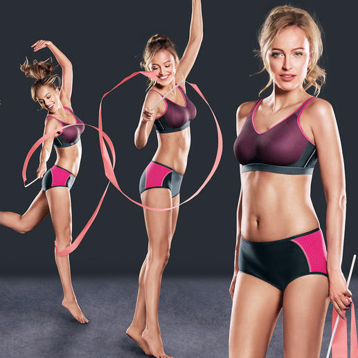 """Anita Sports Bra or Hipster pants """"Air Control"""" Light and soft like a T-shirt bra.Supporting like a high-impact sports bra."""