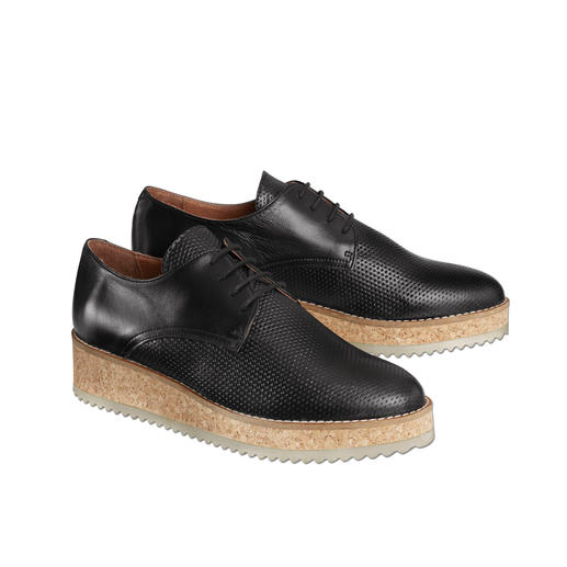 Shoot Platform Derby Shoes On-trend platform derby shoes – much more feminine, comfortable and lighter than similar shoes of this type.
