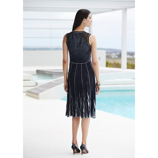 "Shelley Komarov Travel Dress ""Pleated"" Well dressed with little effort. Comfy, easy to clean and yet still elegant."