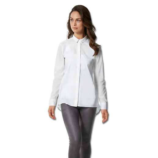 Swiss+cotton Long Blouse - A rare combination – fashionable design and high quality fabric.