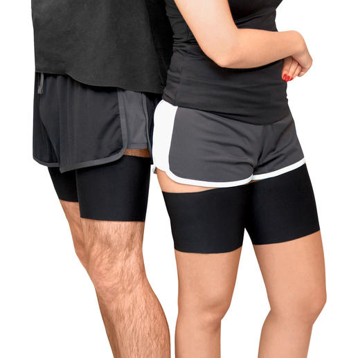 Thigh Bands, Microfibre, Unisex or Lace Avoid uncomfortable thigh chafing.