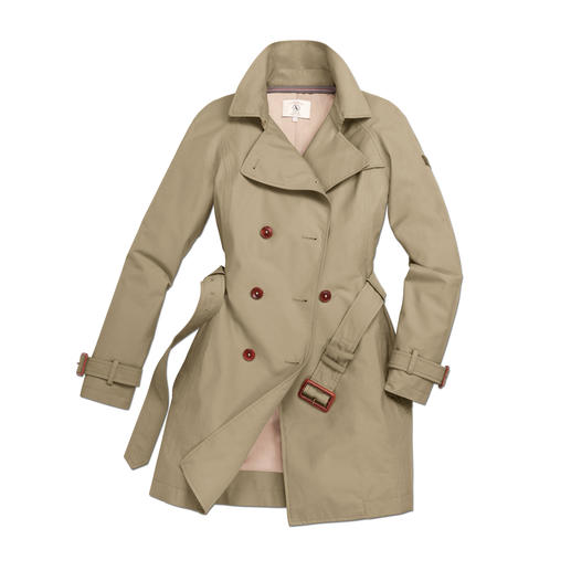 Aigle Trench Coat A classic trench coat, just perfect to brave extreme weather conditions. Wind & waterproof. Warm. Breathable.