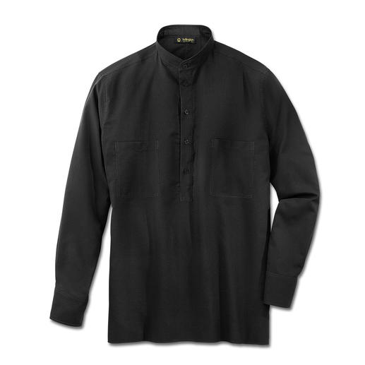 Hollington Nehru Cotton Shirt Hollington's original stand-up collar shirt.