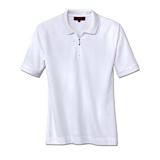 Coolmax® Polo Shirt, short sleeve This polo shirt won't ever pill, shrink or fade. Cools and dries twice as fast as cotton polo shirts.