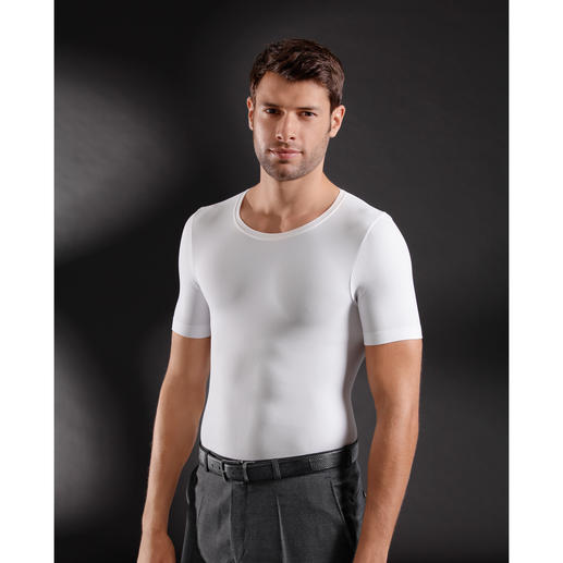 "ITEM m6 Shape T-shirt ""Six-Pack"" The shapewear innovation for men: T-shirt with six-pack effect. By ITEM m6."
