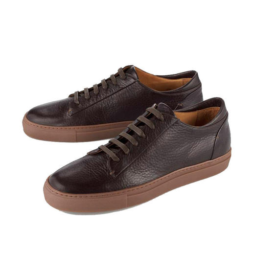 Bernacchini 1905 Calfskin Leather Sneakers Fashionable retro style. Soft calfskin leather. Made in Italy. Affordable luxury by Bernacchini 1905.