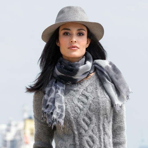 Hat Attack Felt Fedora Flexible, hardwearing and naturally water-repellent.