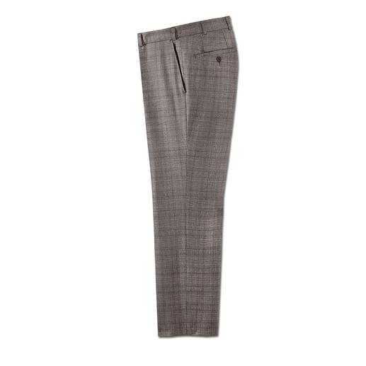 Hoal Estrato® Trousers Estrato®: The exclusive woven fabric from the Italian traditional weaving company Trabaldo Togna.