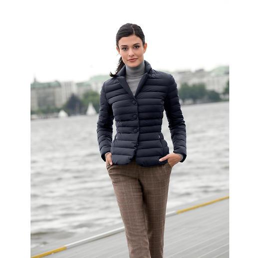 add Lightweight Down Blazer Unusually feminine, unusually elegant: The lightweight down blazer by add, Italy.