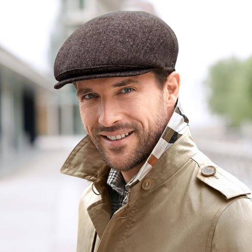 Mayser Michael Zechbauer Flat Cap Fashion revival of the flat cap. Sport this on-trend look made from an excellent fabric, with a superior fit