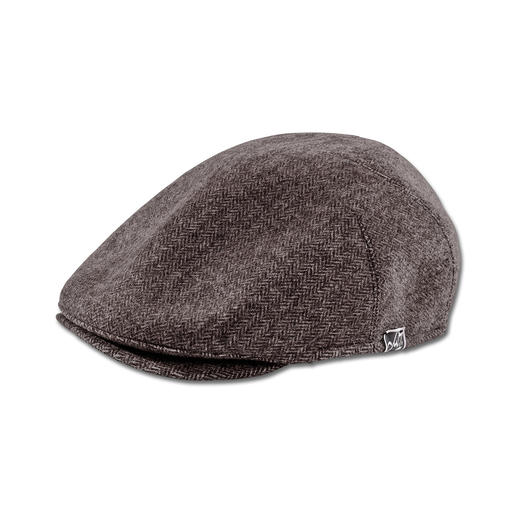 "Mayser ""Michael Zechbauer"" Flat Cap Fashion revival of the flat cap.Sport this on-trend look made from an excellent fabric and with a superior fit"