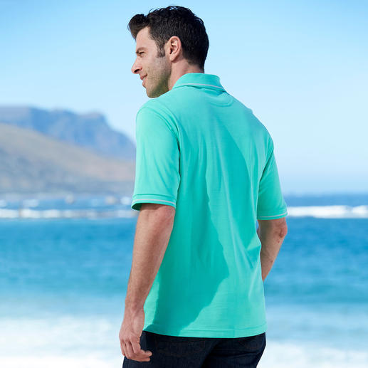Pima Piqué Polo Shirt, Men Your first luxury polo shirt. Made of handpicked (!) Peruvian Pima cotton.