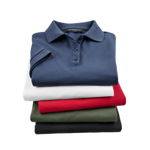 Pima Piqué Polo Shirt, Men Your first luxury polo shirt. Made of handpicked (!) Peruvian Pima cotton.