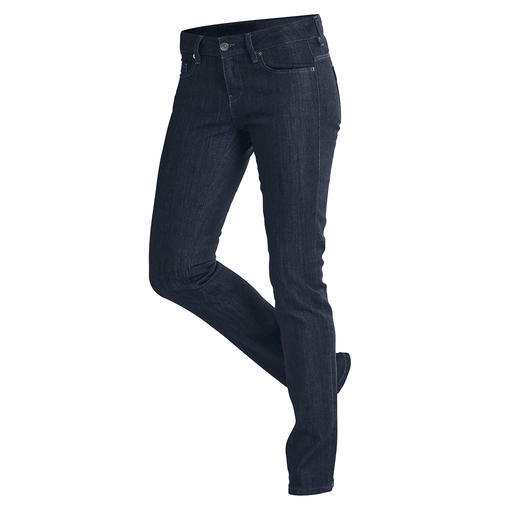 "Strenesse Business Jeans ""Rina"" The latest raw denim look. Clean cut. Perfect fit."