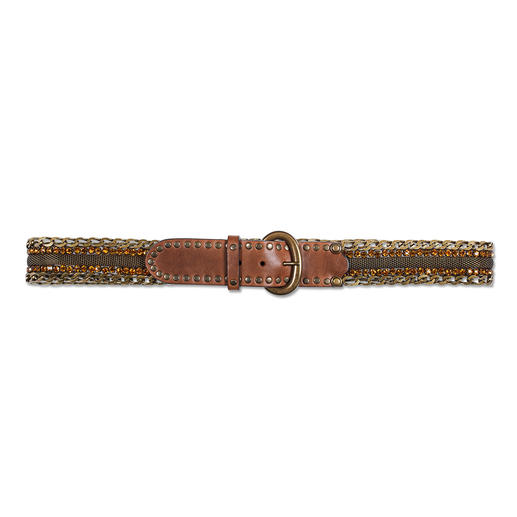 Nanni Milano Metal Decorative Belt Not just a practical belt, but a rare gem.