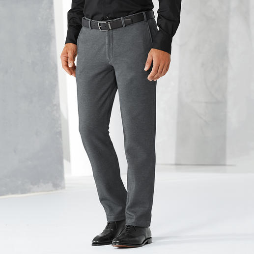 Hiltl Jersey Business Trousers Business-appropriate cloth look but made from comfortable jersey.