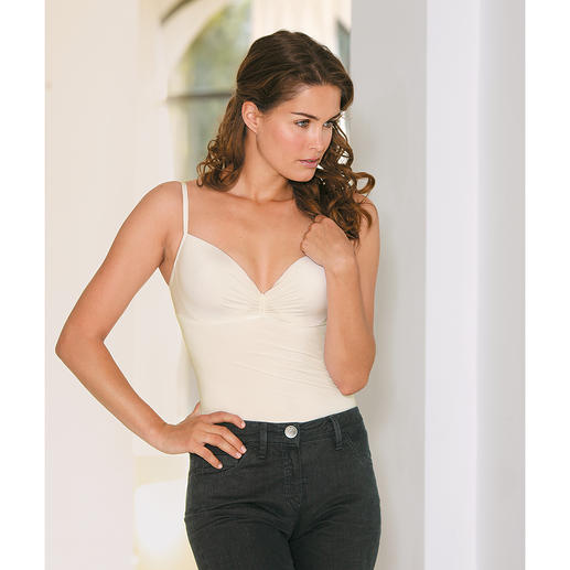Triumph Bra Top Sexy, shaping and very comfortable. The bra top made of silky soft microfibre.