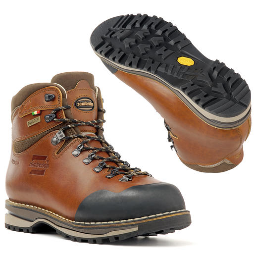 Handmade Zamberlan® Hiking Boots For a lifetime of walking: Handmade from robust leather. Waterproof and breathable