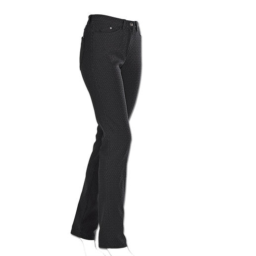 RAPHAELA-BY-BRAX Magic Waistband Trousers, Black Probably the most comfortable trousers you'll ever own. Plus power-stretch effect.
