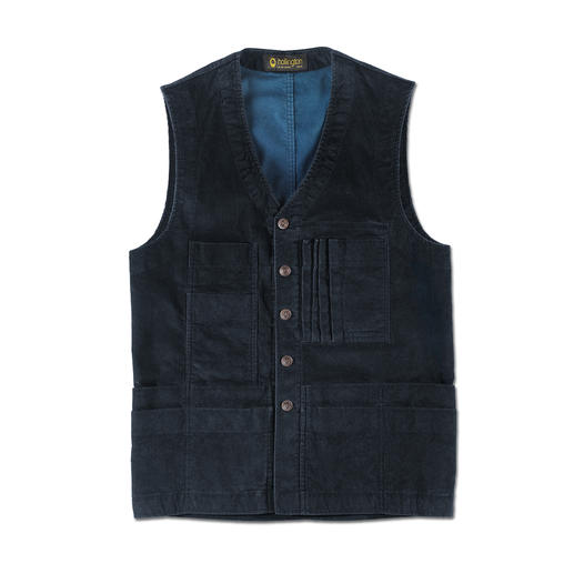 Hollington 19 Pocket Corduroy Waistcoat - Practically unchanged since the seventies. Now highly fashionable again.