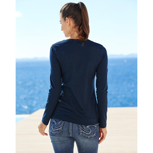 Long-Sleeve, Navy