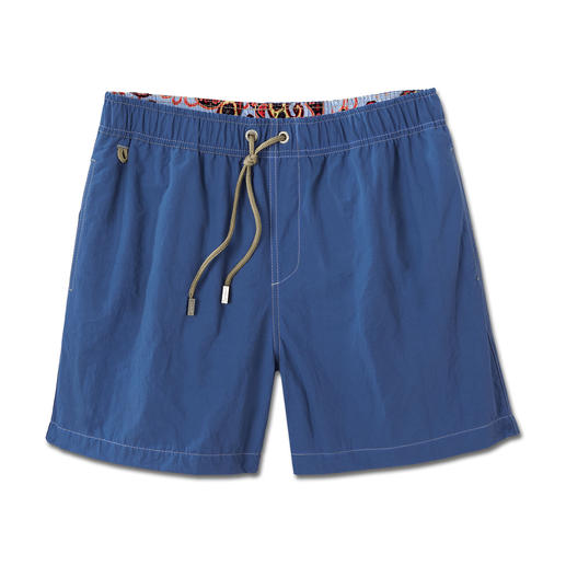 Ramatuelle Swimming Trunks Water repellent, fast drying, high tech fabric. Yet as soft and beautiful as cotton.