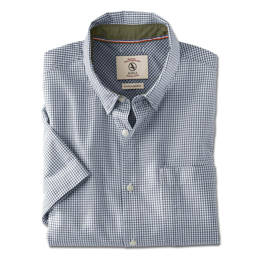 Aigle Outdoor Shirt - This is how stylish a functional outdoor shirt can be. By Aigle, France.