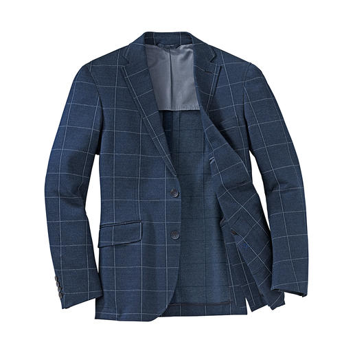 Hackett Jersey Sports Jacket Airy jersey sports jacket in classic flannel look. By Hackett London.