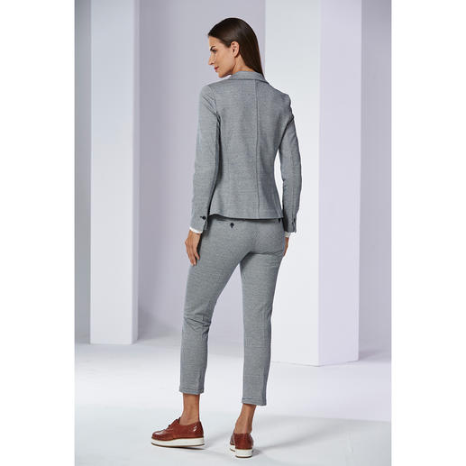 Jersey Blazer and Jersey Suit Trousers
