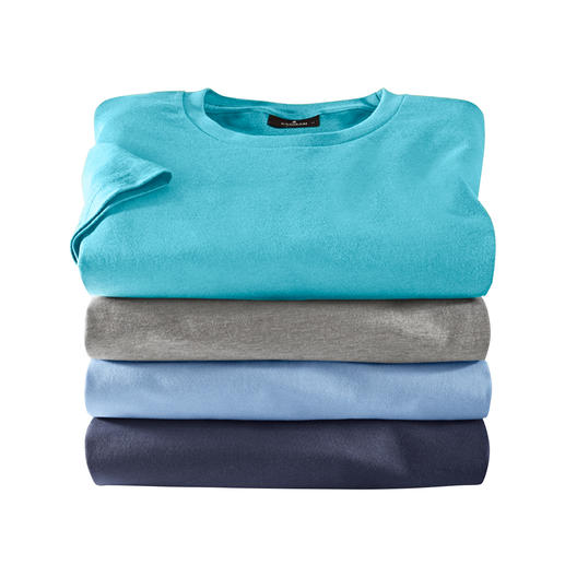 The 5.5 oz Ragman Extremely hardwearing, yet soft, light and airy. Opaque, yet fine enough to wear under a shirt.