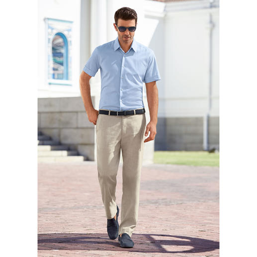 Hoal Linen Business Trousers