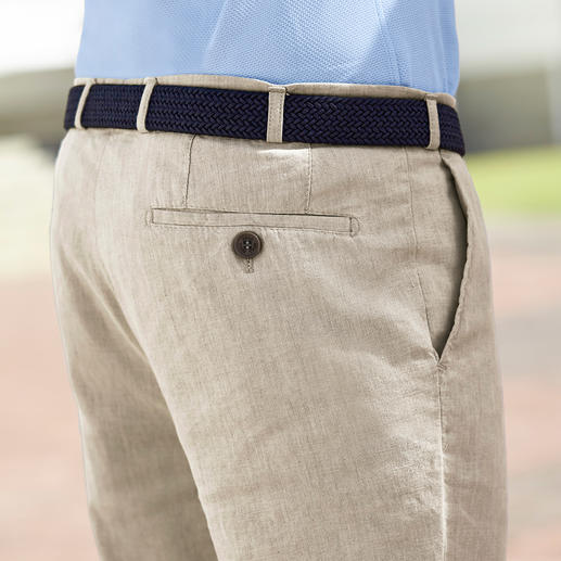 Hoal Linen Business Trousers Business linen creases less.