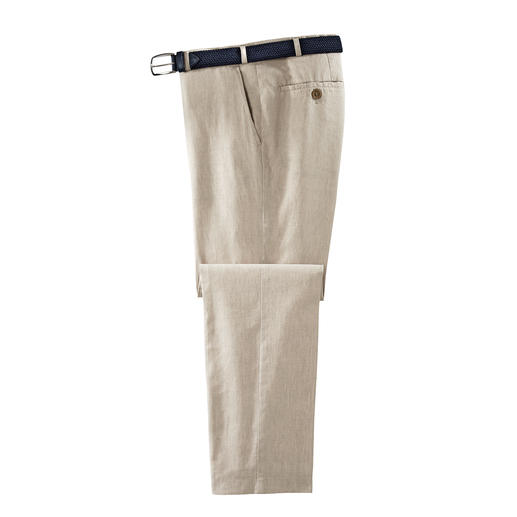 Hoal Linen Business Trousers - Business linen creases less.