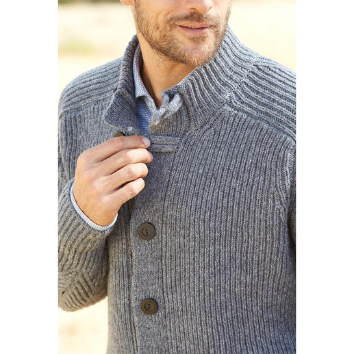 Fisherman Raglan Cardigan