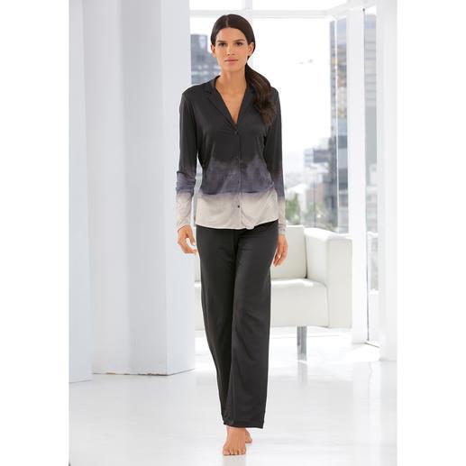 Hanro Dip-Dye Pyjamas Pyjamas inspired by the latest catwalk trends. By Hanro.