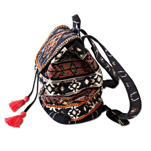 Smitten Ethnic Rucksack The authentic one among fashionable ethnic rucksacks. Ingeniously made by hand. By Smitten.