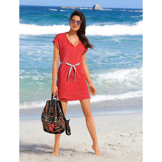Pluto Fine Towelling Dress - Elegant fine towelling dress for the beach, spa, at home ... By Pluto.