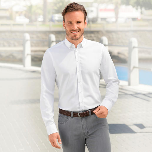 BDO New Line Shirt BDO shirt: As good as ever – but a generation younger. The button-down Oxford shirt in a modern slim fit.