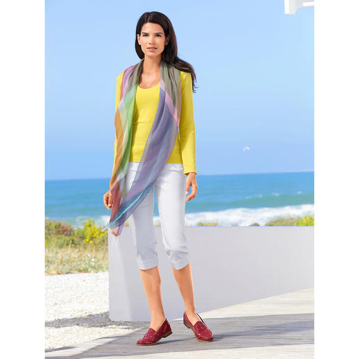 Ancini 14 Colours Shawl 14 colours in one shawl – for an endless number of ­combinations. Made in Italy. By Ancini.